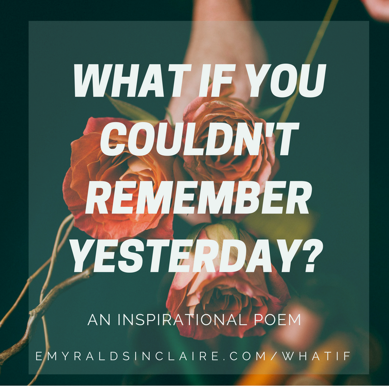 WHAT IF? BY EMYRALD SINCLAIRE