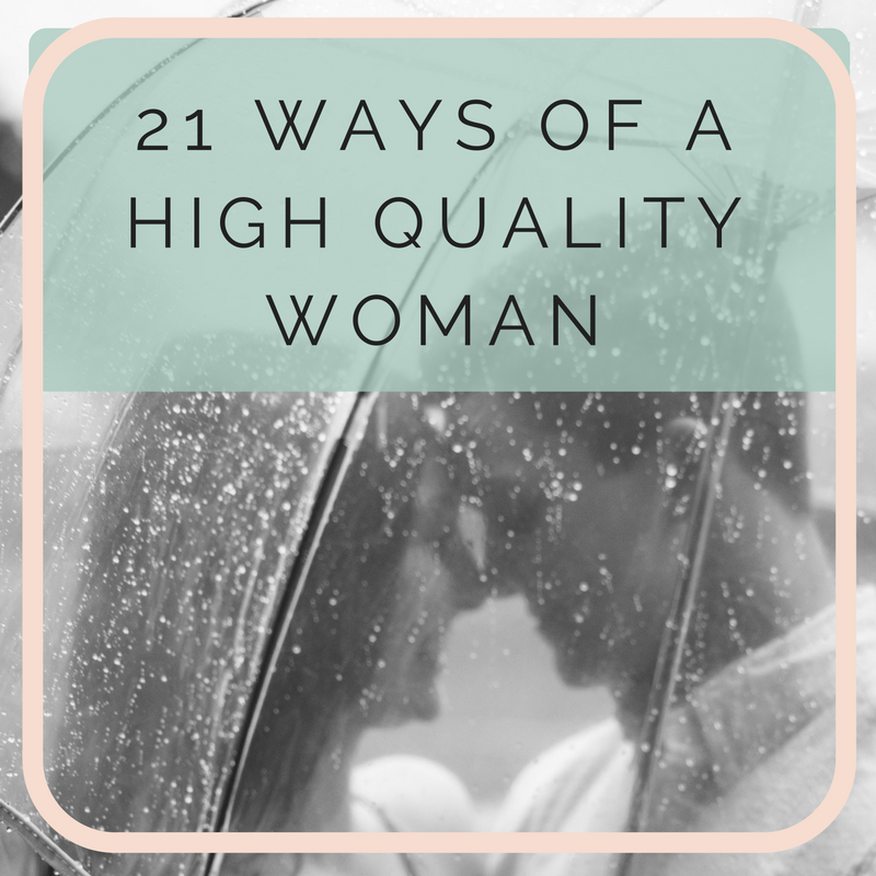 21 ways of a high quality woman by love coach emyrald sinclaire