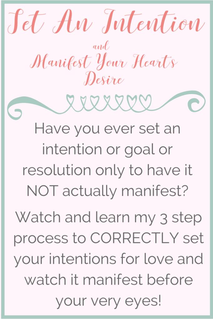 Set an Intention- Truth Tuesdays