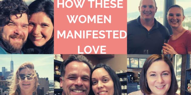 5 Women Who Manifested Love using My 5 Step Manifestation Process